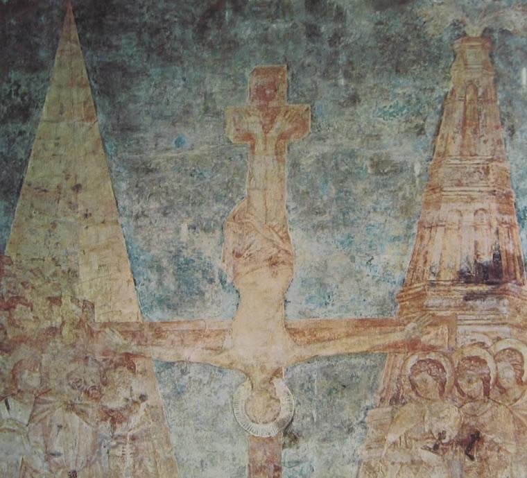 Cimabue: Crocifissione di San Pietro (Assisi)
