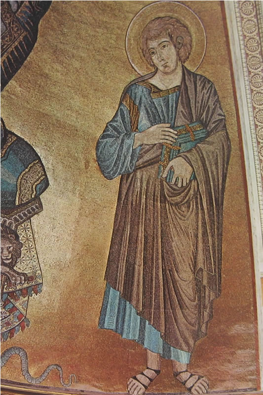 Cimabue: San Giovanni Evangelista (Duomo di Pisa)