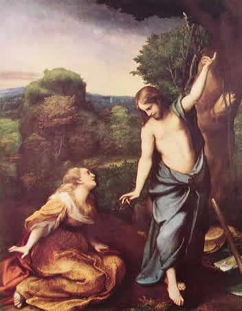 Correggio - Noli Me Tangere (Prado)