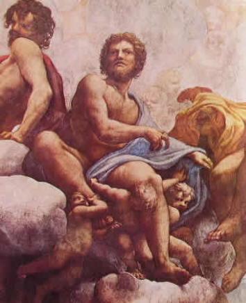 Particolari della cupola: I Santi Filippo e Taddeo