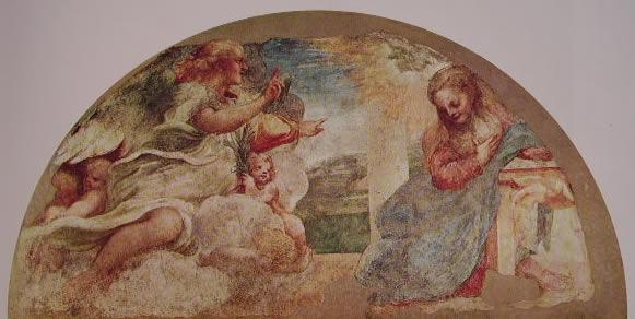 Correggio: L'Annunciazione (Galleria di Parma)