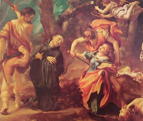 Correggio: Il martirio dei quattro santi (Parma)
