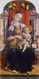 Madonna col Bambino in trono, 136 x 66