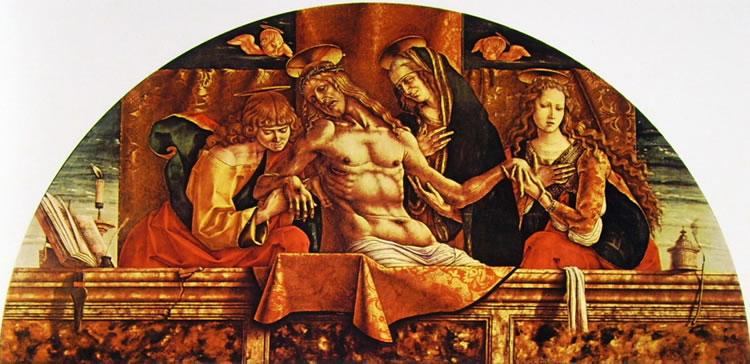 Carlo Crivelli: La Pietà (Pinacoteca di Brera)
