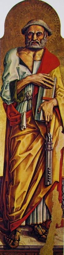 Carlo Crivelli: Polittico di Montefiore - San Pietro
