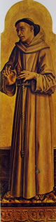 S. Francesco,183 x 59 cm.