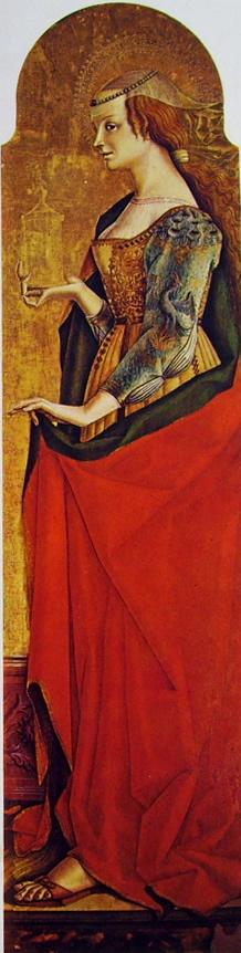 Carlo Crivelli: Polittico di Montefiore - Maria Maddalena