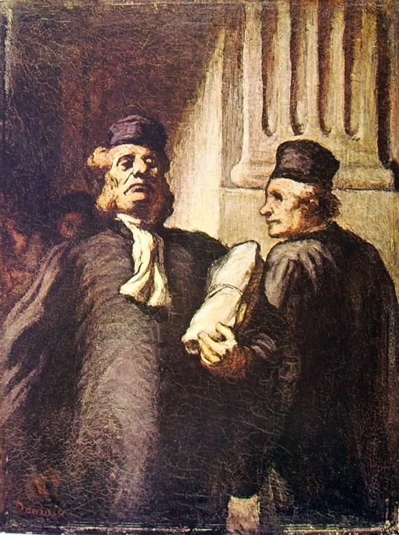 Honoré Daumier: Avvocati (Lione)