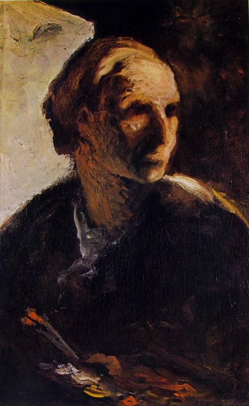"Honoré Daumier: ""Pittore"" (Edimburgo)"