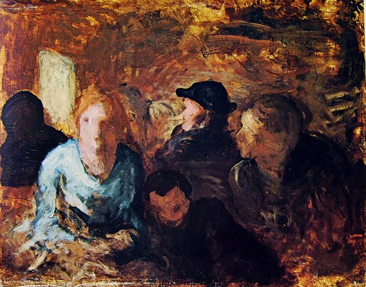 Honoré Daumier: Figure sedute