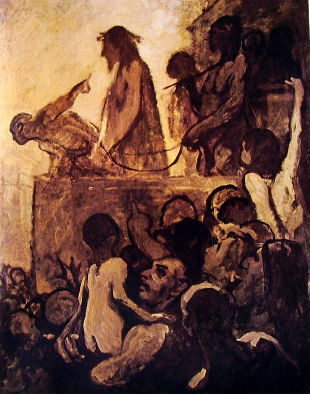 Honoré Daumier: Ecce Homo (Essen)