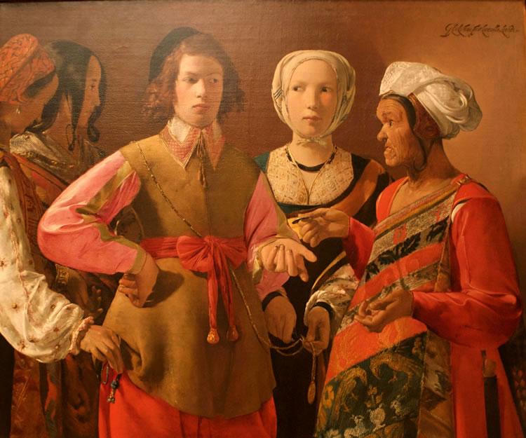 Georges de La Tour: La buona ventura