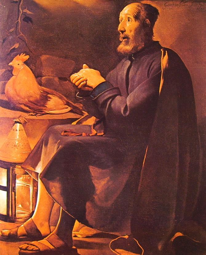 Georges de La Tour: Il pentimento di San Pietro (Cleveland)