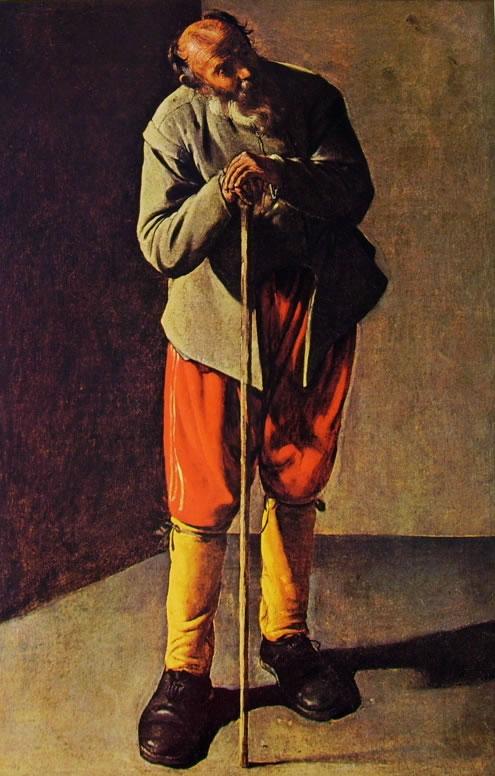 Georges de La Tour: Vecchio (San Francisco)