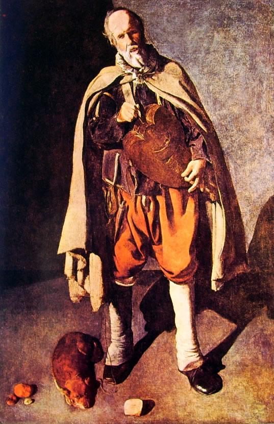Georges de La Tour: Suonatore di ghironda