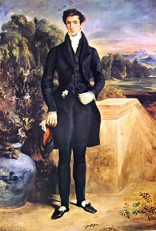 Eugène Delacroix: Ritratto del barone Louis-Aguste de Schwiter