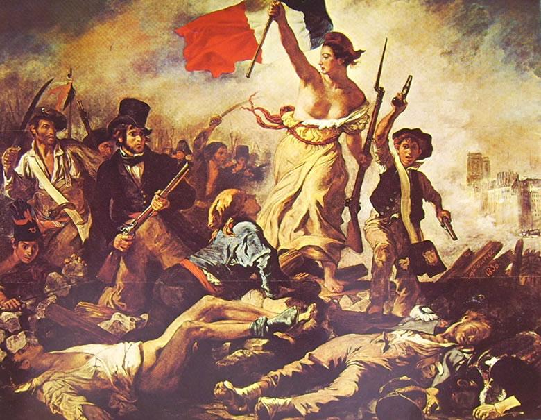 Eugène Delacroix: La libertà che guida il popolo