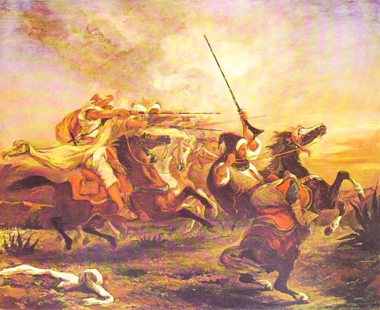 Eugène Delacroix: Fantasia araba