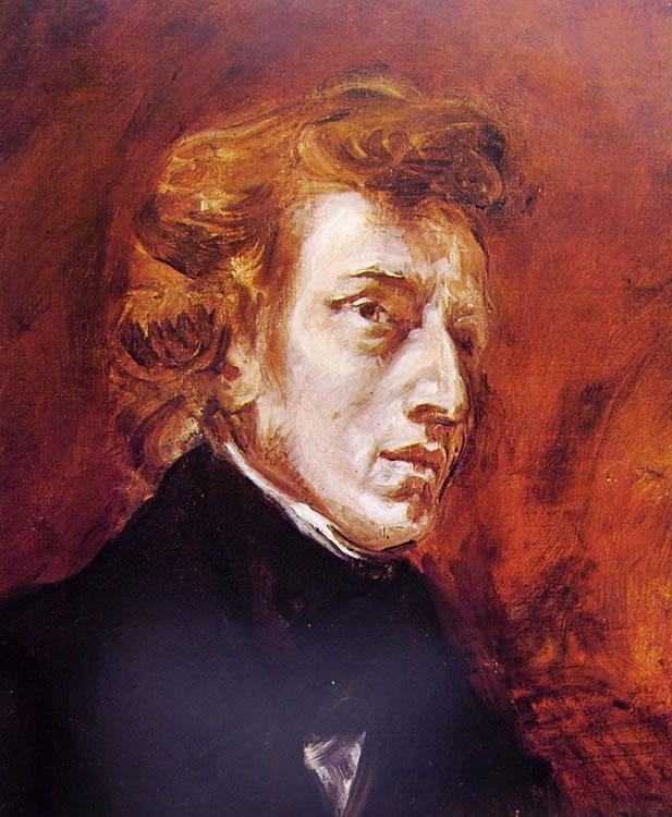 Eugène Delacroix: Ritratto di Chopin (Louvre)