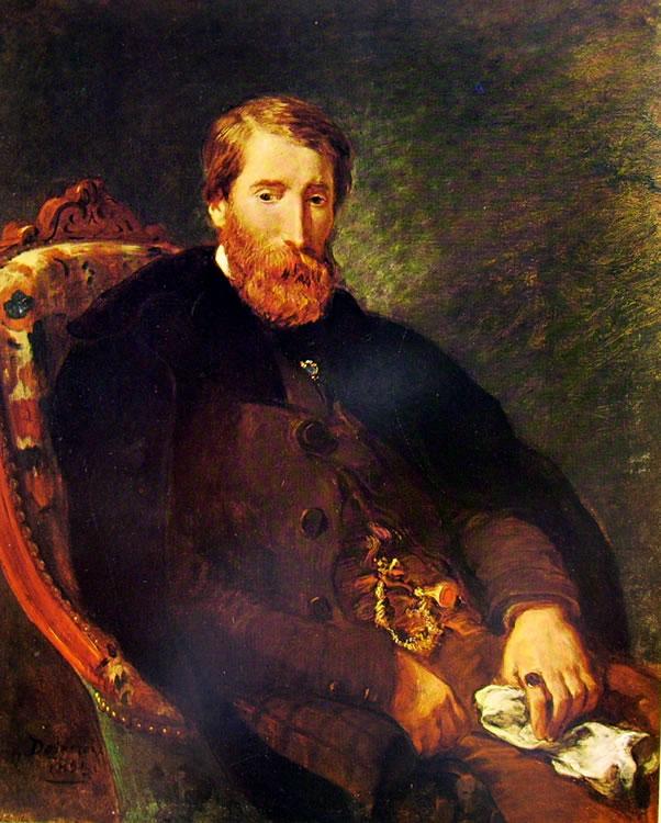 Eugène Delacroix: Ritratto di Alfred Bruyas