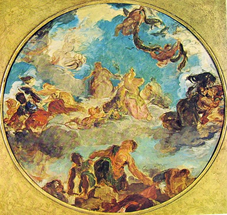 Eugène Delacroix: La Pace (Musée Carnavalet)