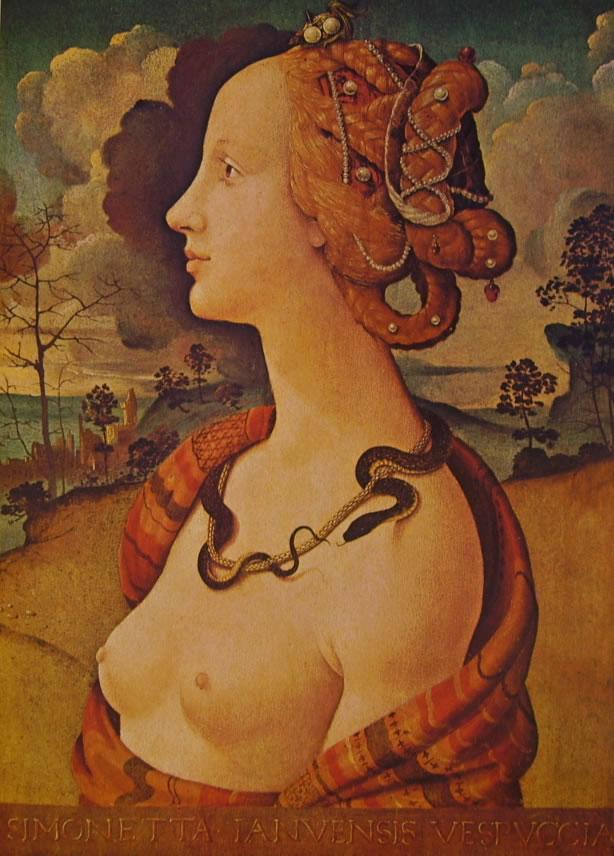 Piero di Cosimo: Ritratto di Simonetta Vespucci