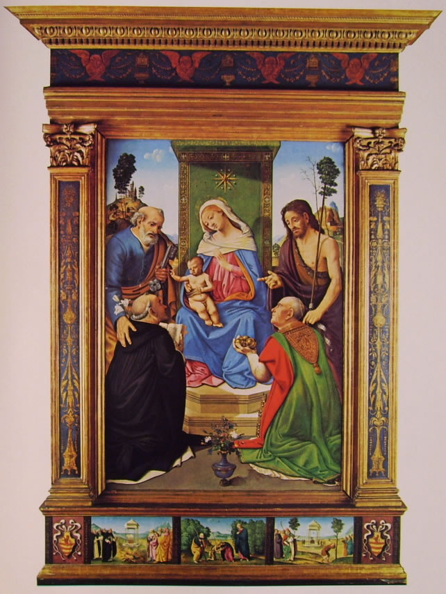 Piero di Cosimo: Pala del Pugliese