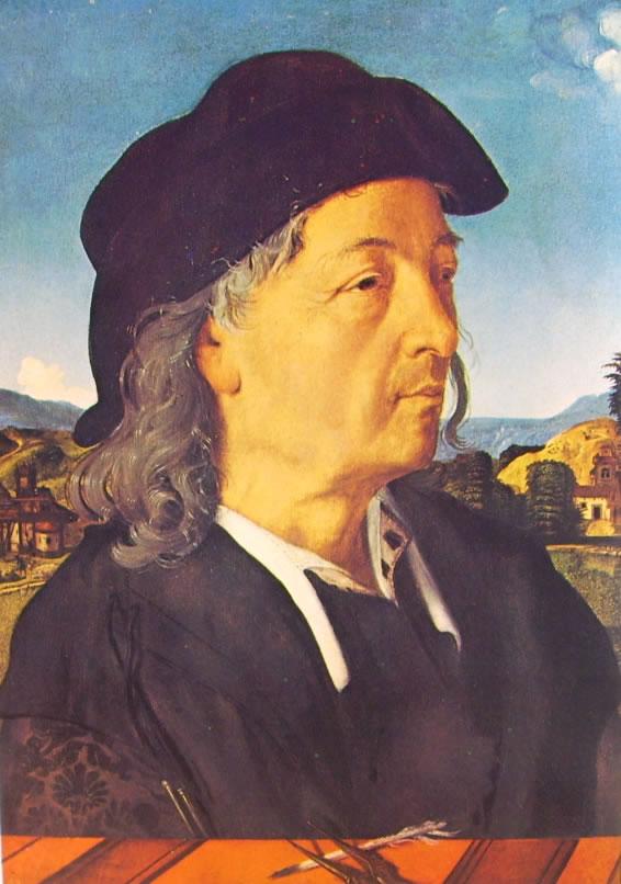 Piero di Cosimo: Ritratto di Giuliano da Sangallo