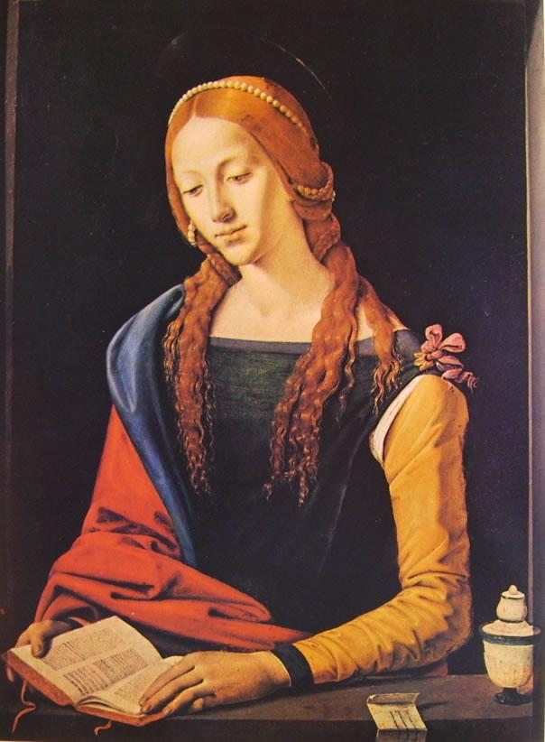 Piero di Cosimo: Santa Maria Maddalena (Galleria Nazionale)