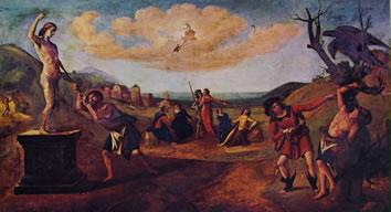 Il mito di Prometeo, Musées des Beaux Arts, Strasburgo