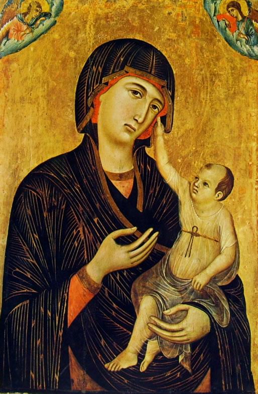 Duccio di Buoninsegna: Madonna di Crevole (Siena)