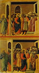 Cristo percosso e Cristo davanti a Caifa