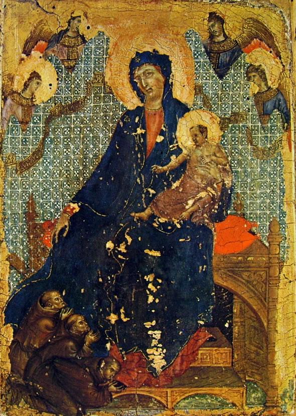 Duccio di Buoninsegna: Madonna dei francescani