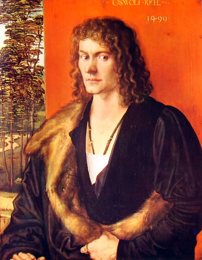 Albrecht Dürer: Ritratto di Oswolt Krel (Monaco)
