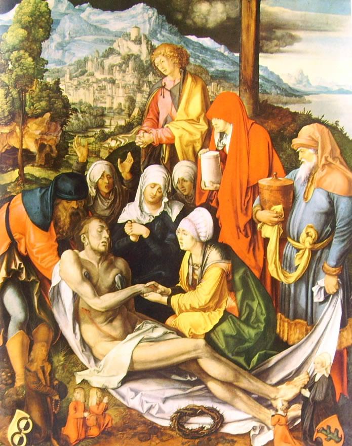 Albrecht Dürer: Compianto su Cristo morto (Monaco)