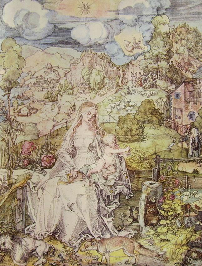 Albrecht Dürer: Madonna degli animali (Vienna)