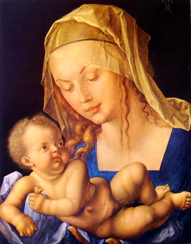 Albrecht Dürer: Madonna col Bambino (Vienna)