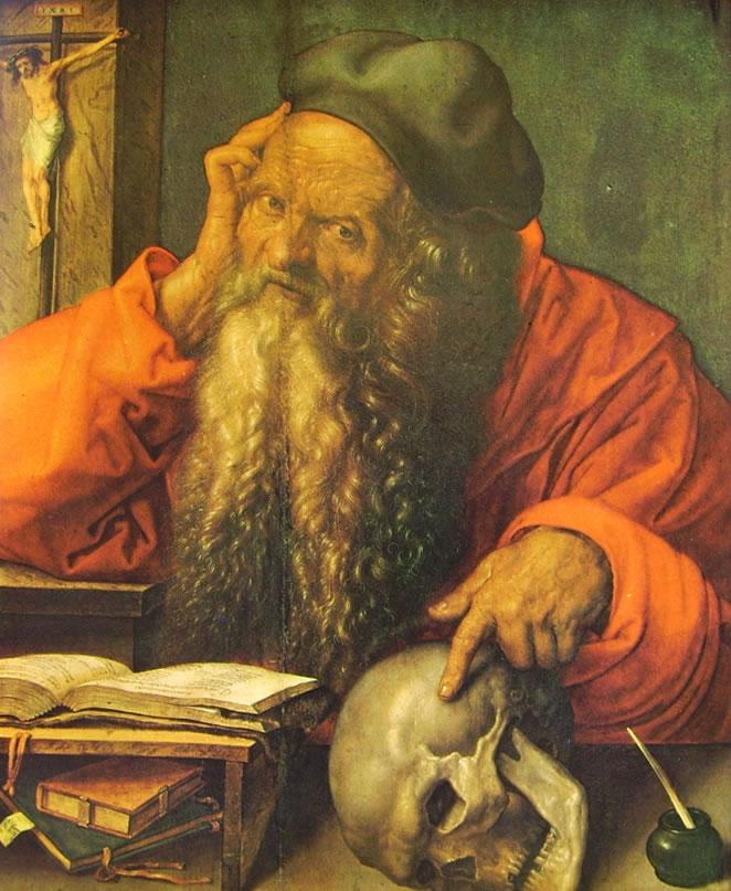 Albrecht Dürer: San Gerolamo (Lisbona)