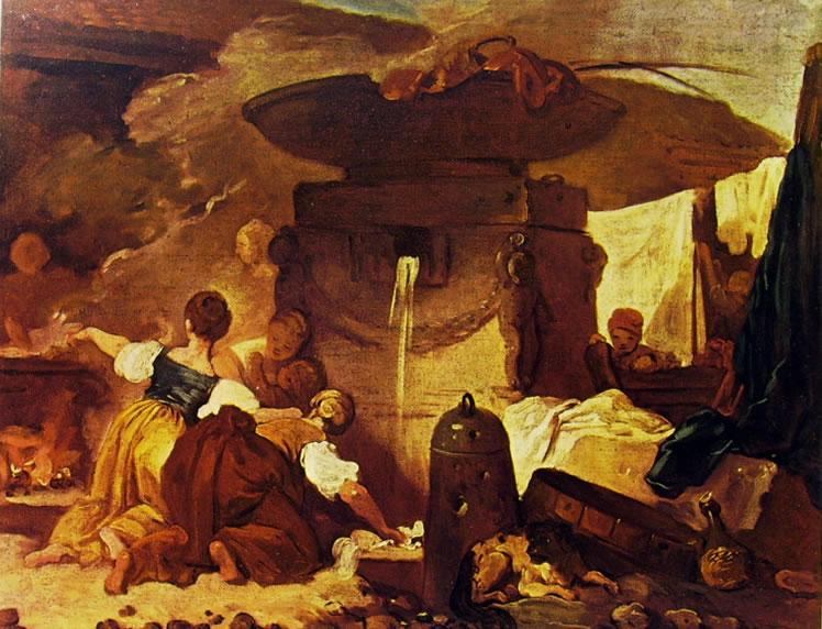 Lavandaie di Jean-Honoré Fragonard