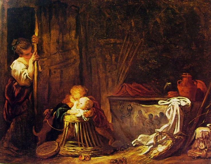 Il gioco a nascondino di Fragonard