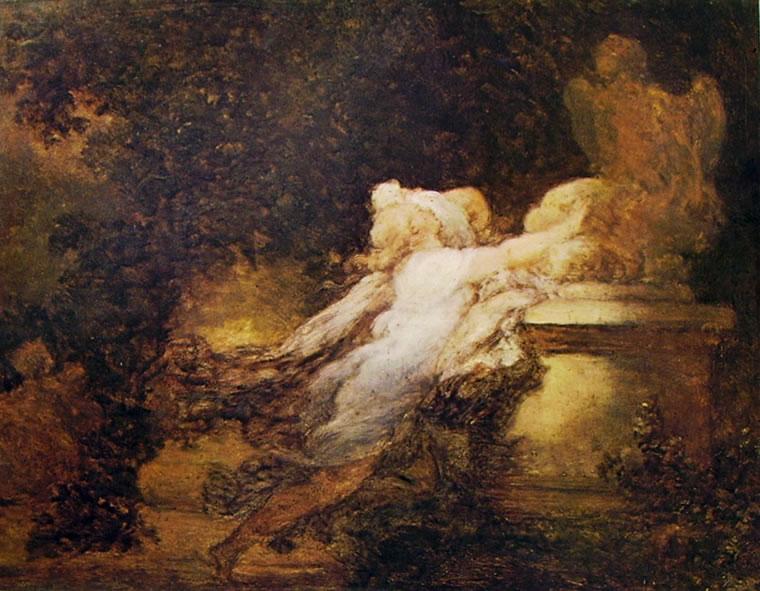 Jean-Honoré Fragonard: Invocazione dell'amore (Louvre)