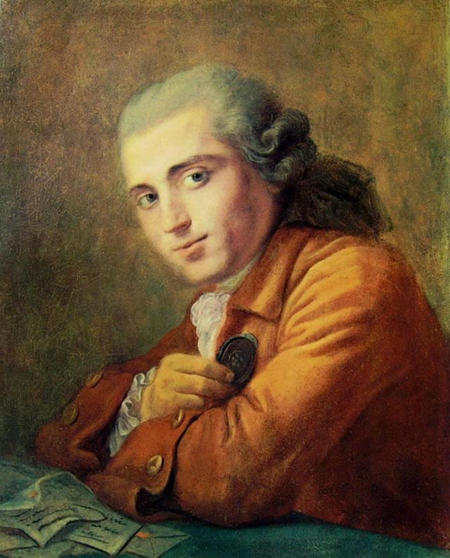 Jean-Honoré Fragonard: Ritratto di Alessandre Maubert