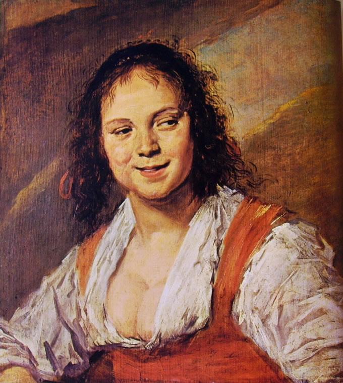 Frans Hals: Zingara (Louvre)