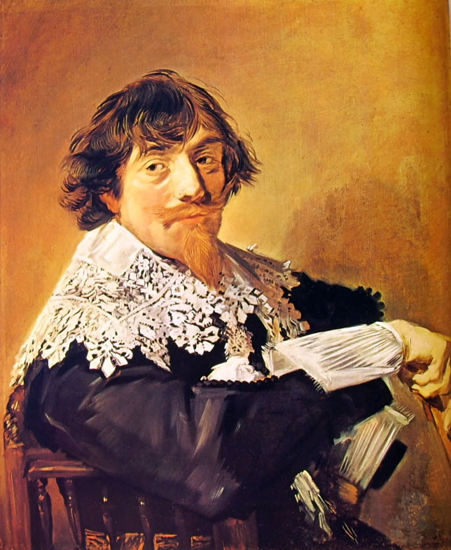 Frans Hals: Ritratto di Nicolaes Hasselaer