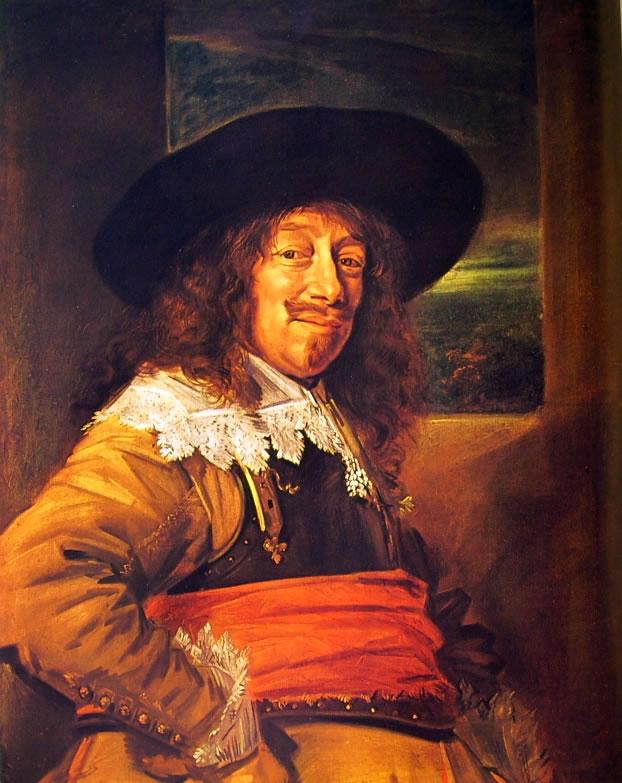 Frans Hals: Ritratto di uomo con corazza