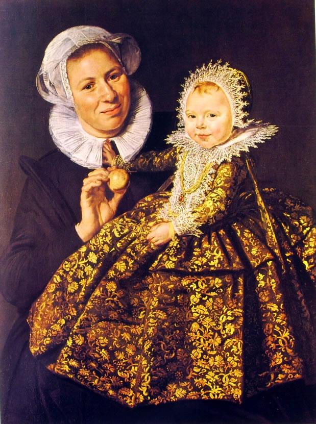 Frans Hals: Balia e bambina