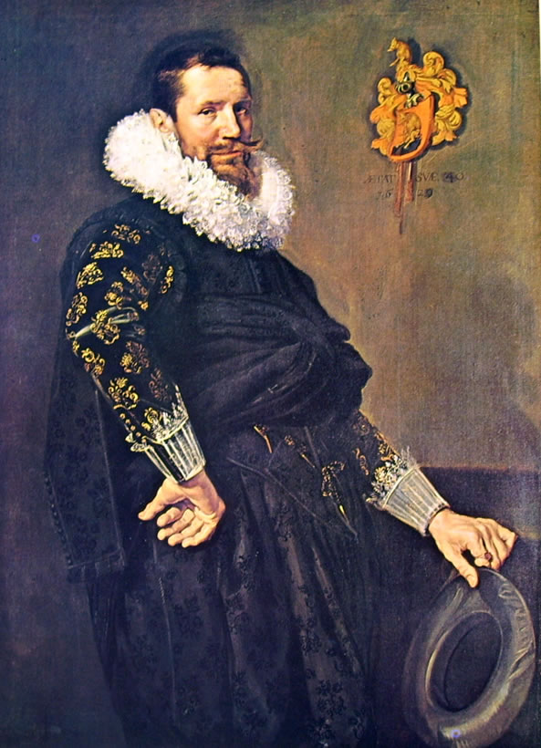 Frans Hals: Ritratto di Paulus Van Beresteyn