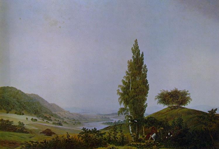 Caspar David Friedrich: L'Estate (Monaco)