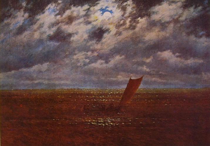 Caspar David Friedrich: Notte (collezione Nathan a Zurigo)