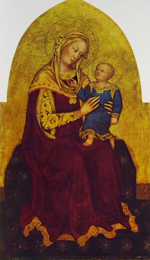 Gentile da Fabriano: Madonna con il Bambino